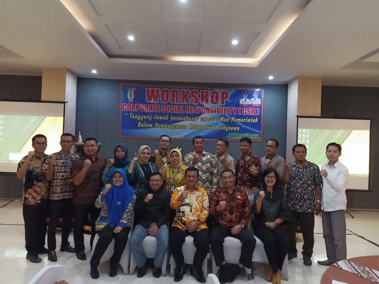 Sosialisasi Corporate Social Responsibility CSR Kabupaten Pringsewu Tahun 2019