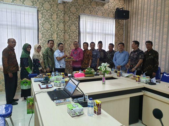 Kunjungan Kerja Anggota DPRD Bengkulu Selatan Ke Bappeda Kabupaten Pringsewu