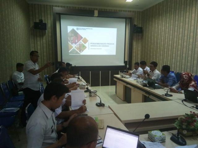 Rapat Pengembangan Produk Unggulan Daerah Kabupaten Pringsewu