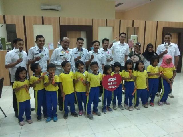 Happy Fathers Day, Sekolah Mutiara Bangsa Kunjungi Bappeda Pringsewu